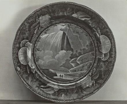 Plate - Table Rock, Niagra