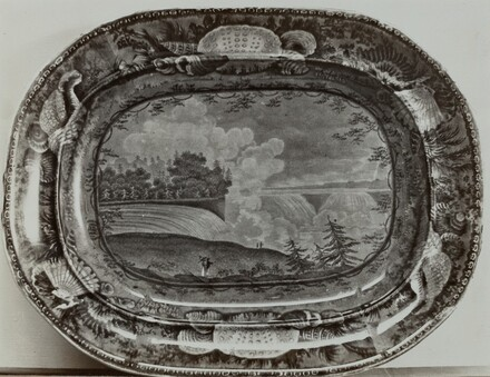 Plate - Niagra from American Side