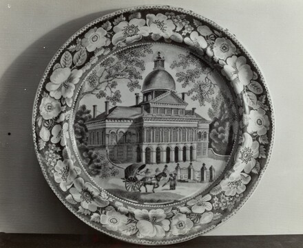Plate - State House, Boston