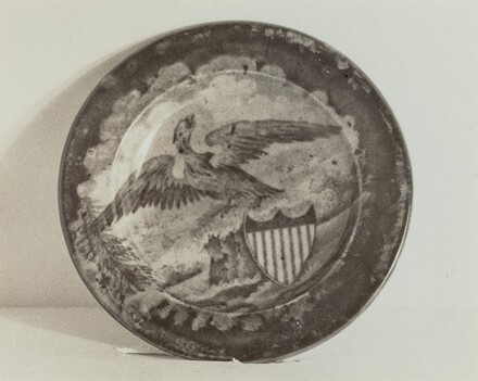 Cup Plate - U.S. Arms
