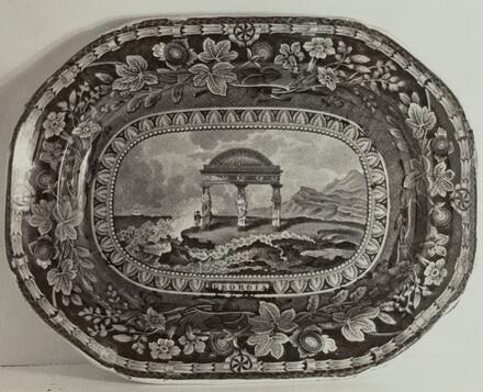 Platter - Georgia Arms
