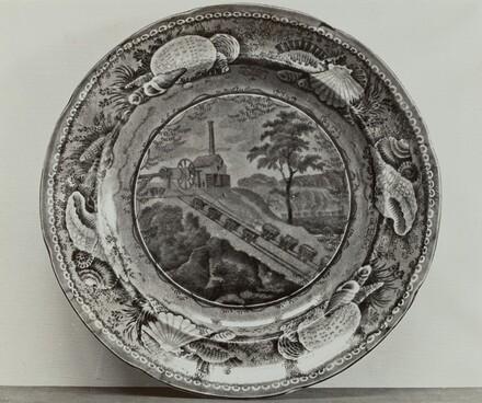 Plate - Baltimore and Ohio Railroad