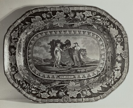 Plate - New Jersey Arms