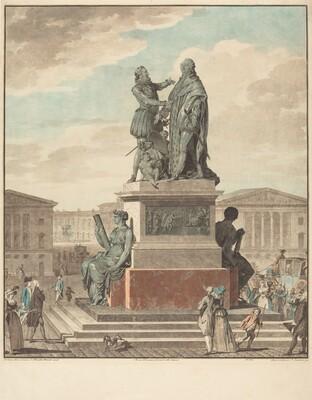 Projet d'un monument a ériger pour le roi
