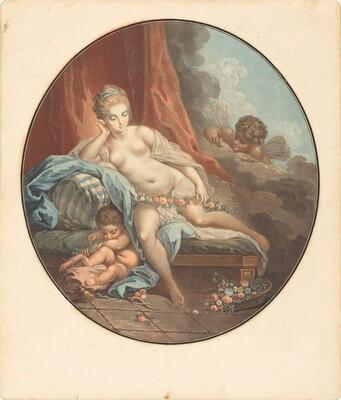 Venus en reflection