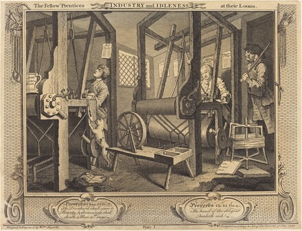 The Fellow 'Prentices at Their Looms