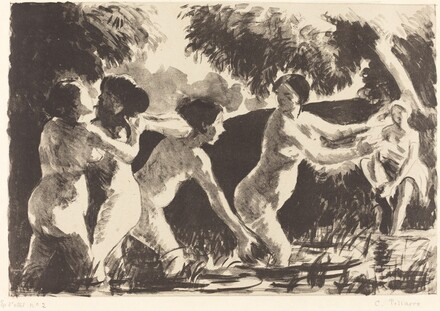 Bathers Wrestling (Baigneuses luttants)