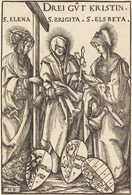 Saint Helena, Saint Brigitta and Saint Elizabeth
