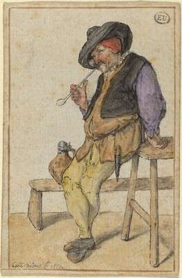 Peasant Smoking