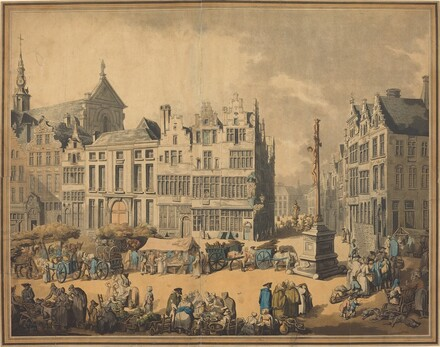Place de Meir at Antwerp