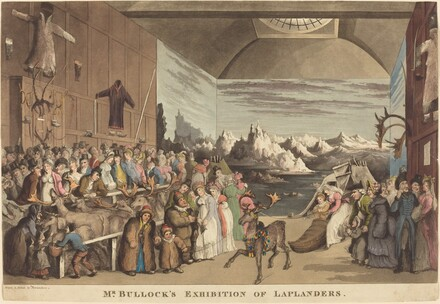 Mr. Bullock's Exhibition of Laplanders