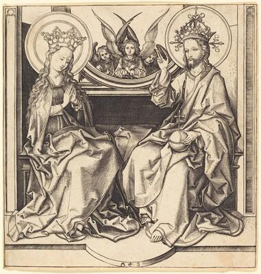 Christ Blessing the Virgin
