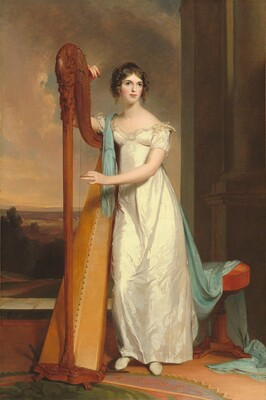 Lady with a Harp: Eliza Ridgely