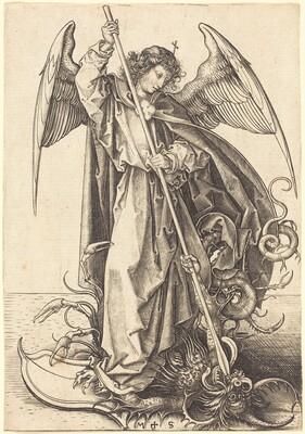 Saint Michael Slaying the Dragon