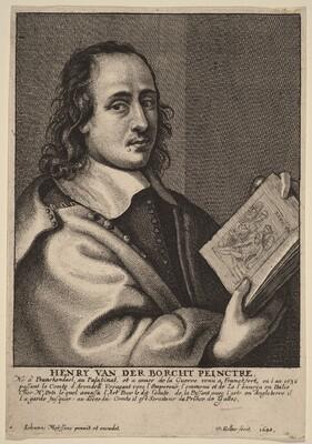 Henry van der Borcht, Painter