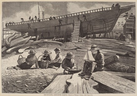 Ship-Building, Gloucester Harbor
