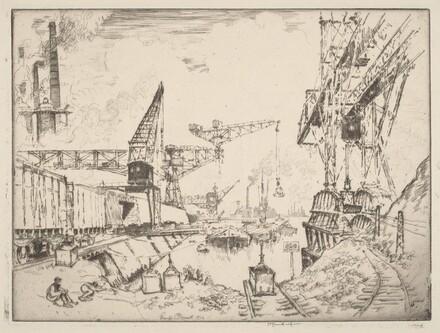 Cranes at Duisburg