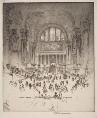 The Marble Hall, Pennsylvania Station, New York
