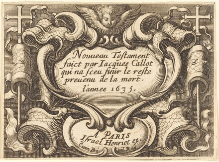 Frontispiece for Callot's The New Testament