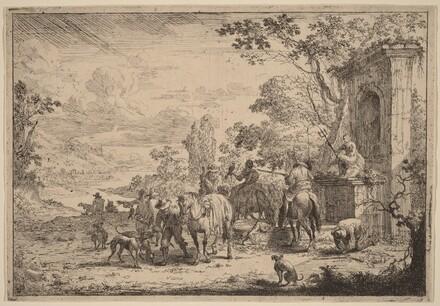 Huntsmen Resting