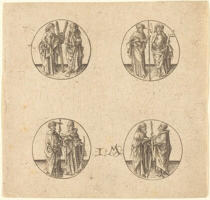 Eight Apostles in Four Roundels