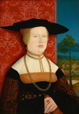 Margarethe Vohlin, Wife of Hans Roth [obverse]
