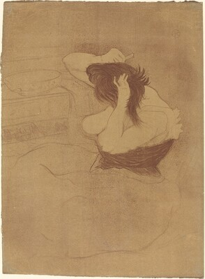 Woman Combing Her Hair (Femme qui se peigne)