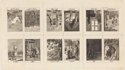 Illustrations to Fables & Tales by Gellert, Gleim, Hagedorn, Lichtwer and Pfeffel