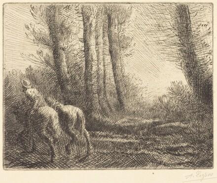 Return from the Plowing (Le retour de labourage)