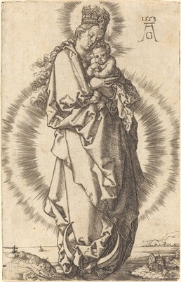 The Virgin with the Child on the Crescent