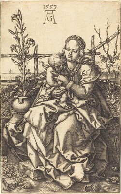 The Virgin Seated