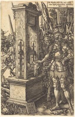Titus Manlius Beheading His Son