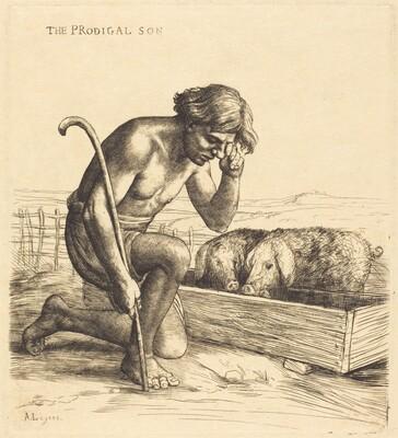 The Prodigal Son, 1st plate (L'enfant prodigue)