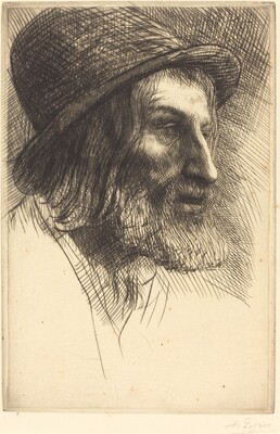 Head of an English Laborer (Tete d'ouvrier anglais (Le berger))