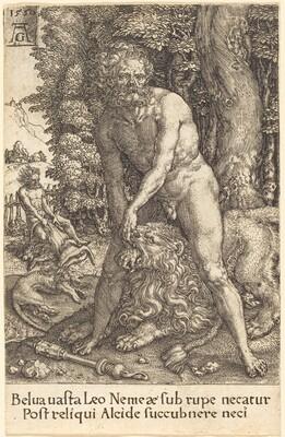 Hercules Slaying the Lion of Nemea