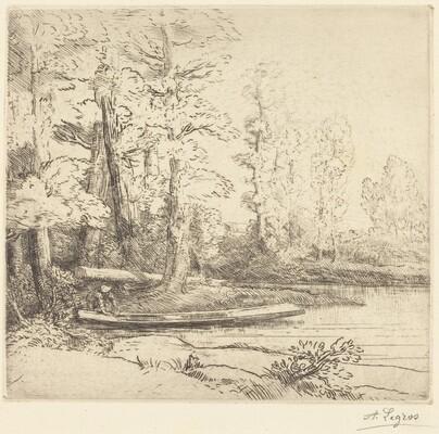 Trees at Water's Edge (Les arbres au bord de l'eau)