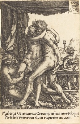 Hercules Preventing the Centaurs from the Rape of Hippodamia