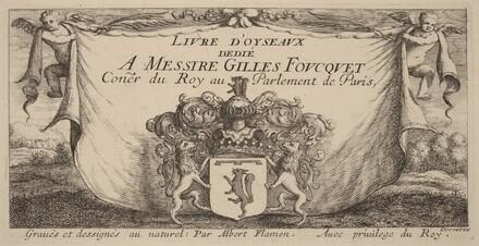 Title Page for Livre d'oiseaux