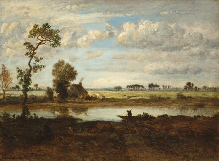 Landscape with Boatman