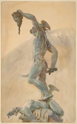 Sketch of Cellini's Perseus