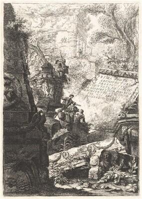 Prima Parte; Grotteschi; Carceri; Alcuna Vedute ...; Trofei di Ottaviano Augusto
