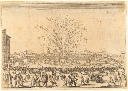 Fireworks on the Arno, Florence