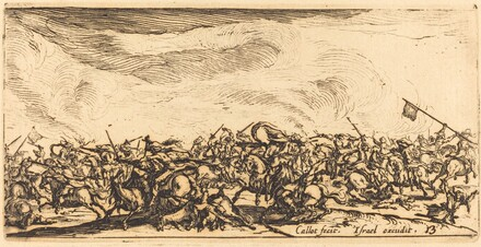 The Cavalry Combat with Swords