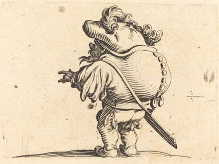 The Hunchback with the Feathered Cap