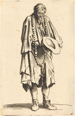 Beggar with Rosary