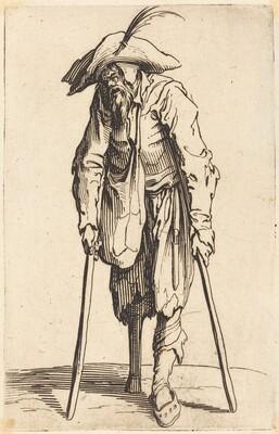 Beggar with Wooden Leg