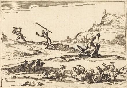 Shepherds Defending their Herds