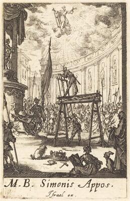 The Martyrdom of Saint Simon