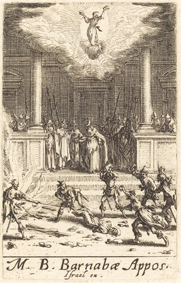 The Martyrdoms of Saint Barnabas