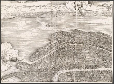 View of Venice [upper left block]